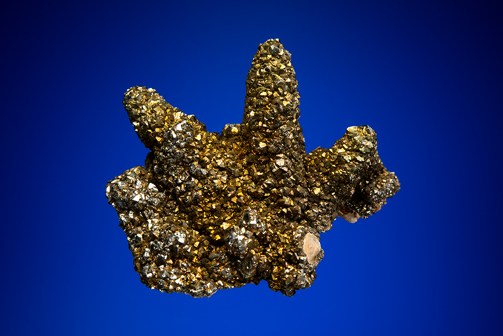 PYRITE on DOLOMITE after CALCITE