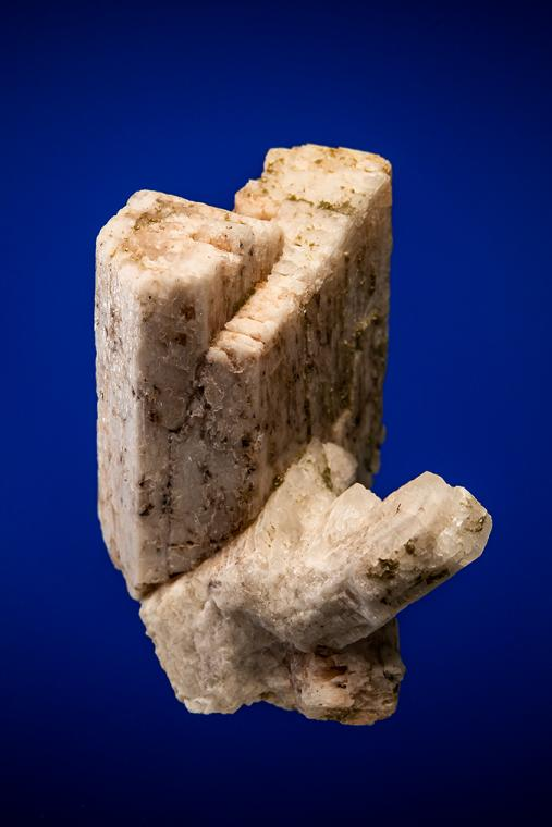 MICROCLINE (Carlsbad twin) with ALBITE