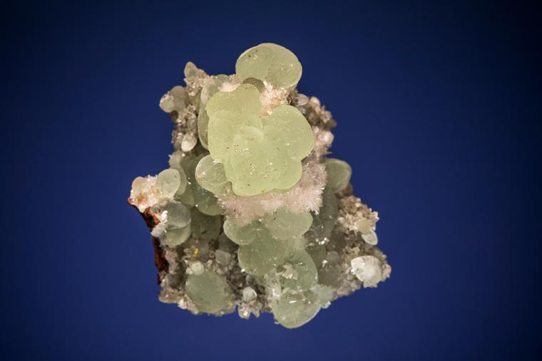 SMITHSONITE with ANGLESITE and HEMIMORPHITE