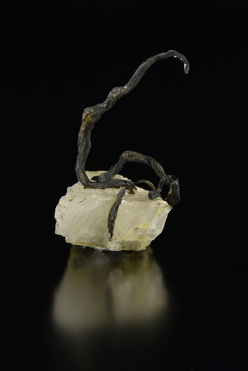 SILVER on CALCITE