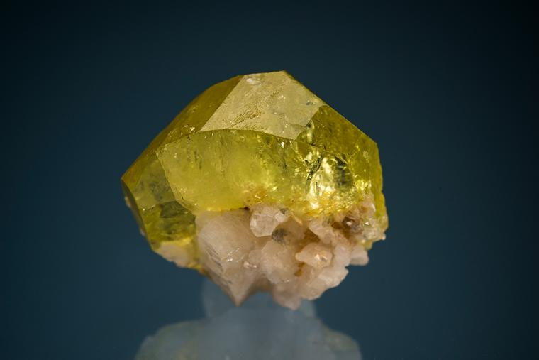 BRAZILIANITE with ALBITE