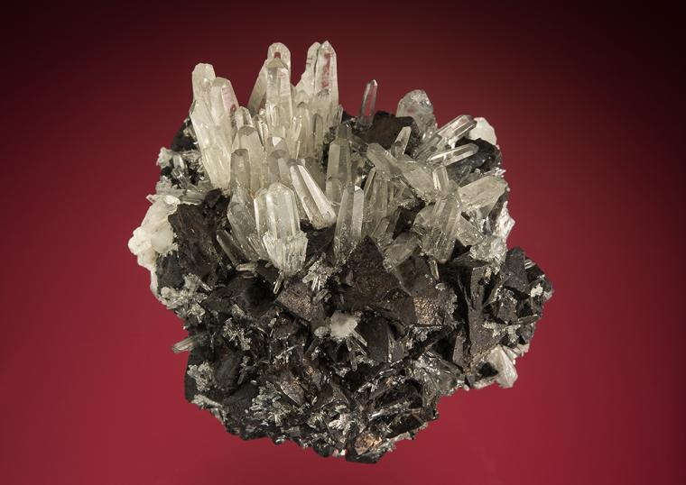TETRAHEDRITE on QUARTZ