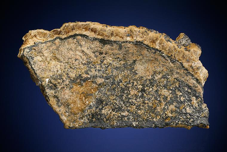 GALENA on SIDERITE