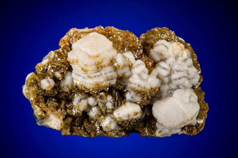 CALCITE on SIDERITE