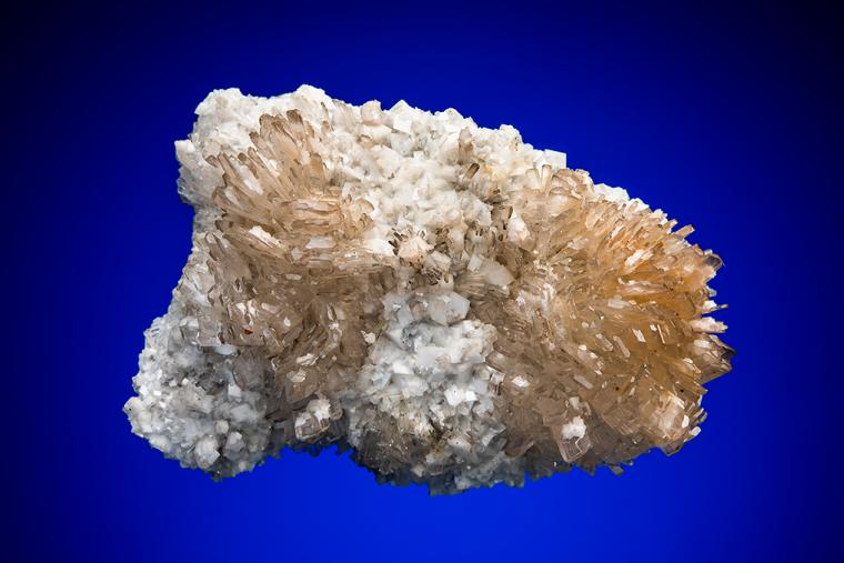 HEMIMORPHITE with CALCITE